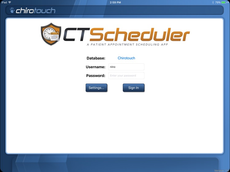 CT Scheduler Mobile 6.6