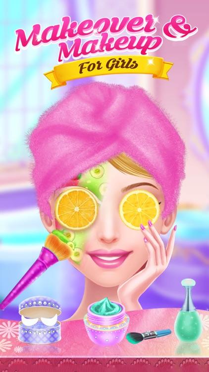 Makeover And Makeup For Girls screenshot-3