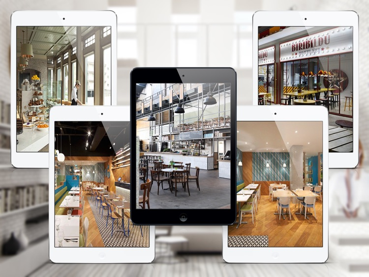 Coffee Shop & Restaurant Design Ideas For iPad screenshot-3