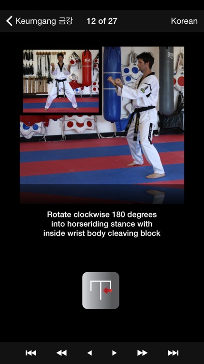 iTaekwondo screenshot-0