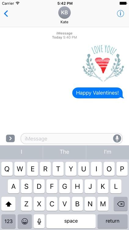 Sticker Love - Valentine's Day Fun screenshot-3