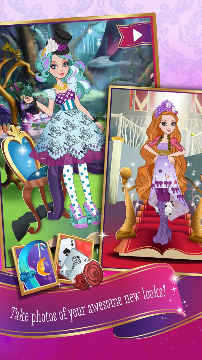 Ever After High™ Charmed Style Screenshot