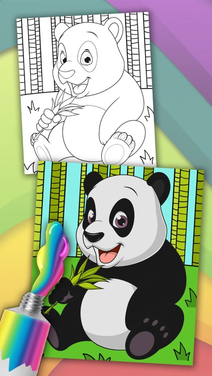 Animals magic coloring pages for kids – Pro