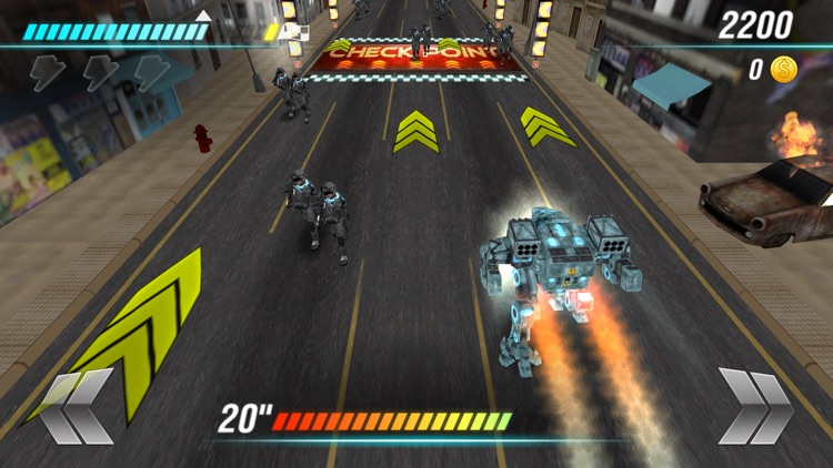 World Robot War screenshot-3