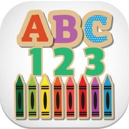 English ABC 123 Alphabet Number Tracing for Kids