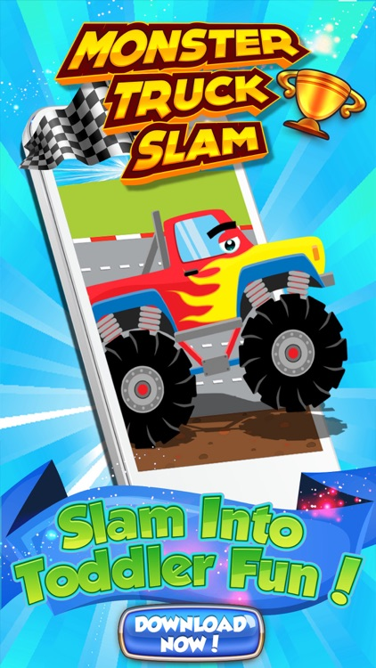 Monster Trucks! Fun 2 3 4 year old games for kids screenshot-0
