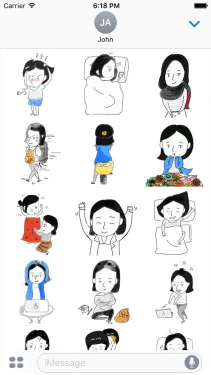 My Daily Life sticker - For Digital nomad & travel