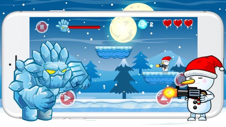 Snowman Run Adventure And Jump Game