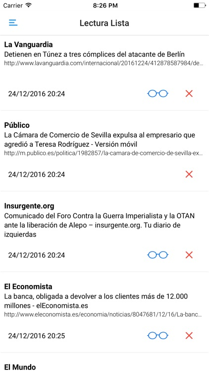 PERIÓDICOS y REVISTAS de ESPAÑA screenshot-3
