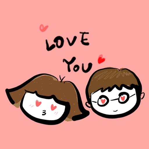 haero Love Stickers