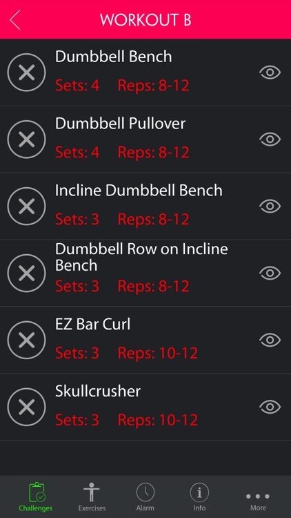 4 Day Superset Split Workout Pro screenshot-0