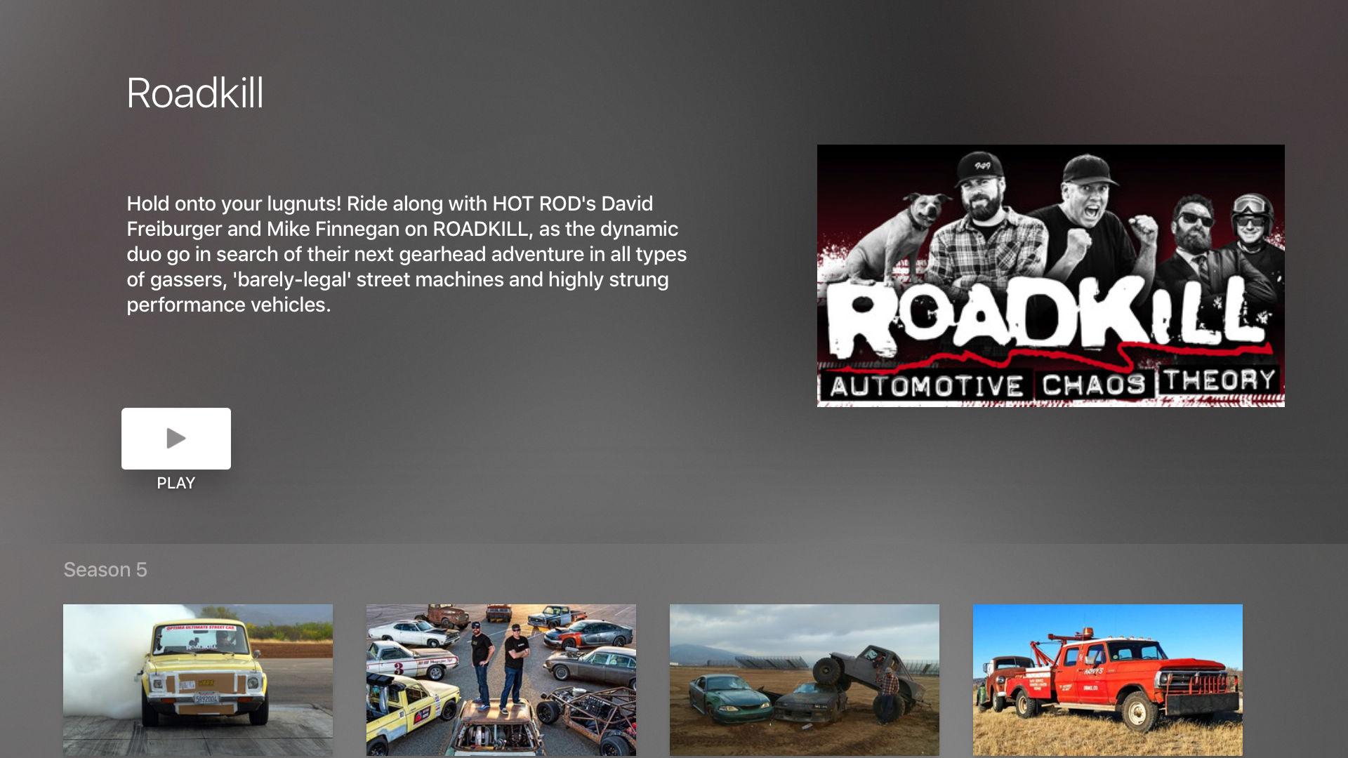 MotorTrend: Stream Car Shows screenshot 11