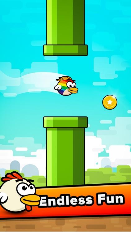 Flappy Bird: Telfie Birds