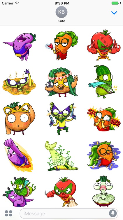 Vegan Six! Stickers