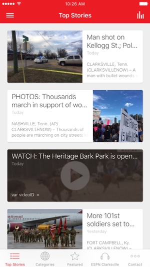 Clarksville Now on the App Store