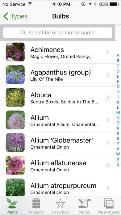 Screenshot for Landscaper's Companion - Plant & Gardening Guide in United States App Store