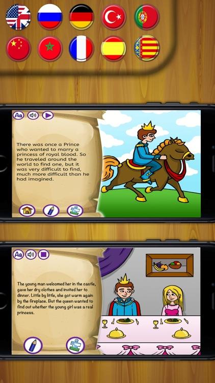 Princess and the Pea Classic interactive book Pro