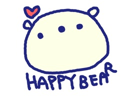 Happy Bear Stickers!!