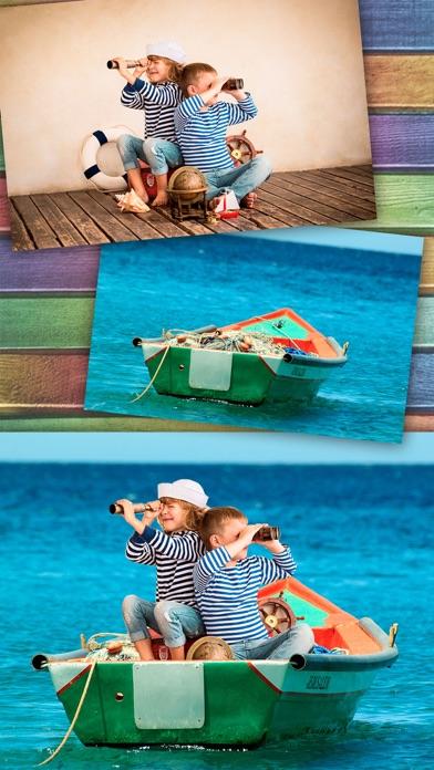 Cut Paste Foto-Editor - Aufkleber für FotosScreenshot von 1