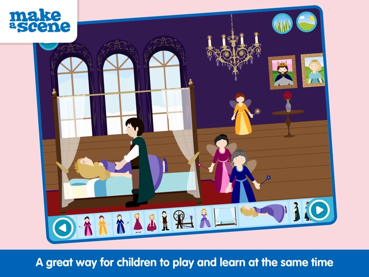 Make a Scene: Princess Fairy Tales screenshot-3