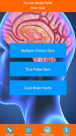 Human body parts brain quiz on the app store screenshots ccuart Images