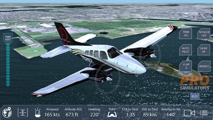 Pro Flight Simulator New York screenshot-2