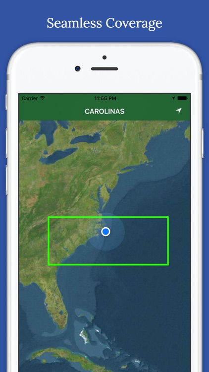 Marine : Carolinas offline GPS nautical charts screenshot-2