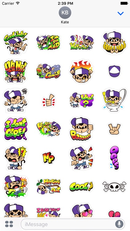 Angry Monkey Sticker screenshot-4