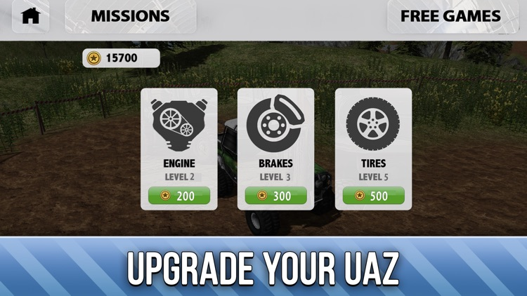 UAZ 4x4 Offroad Rally Full - Try Russian SUV screenshot-3