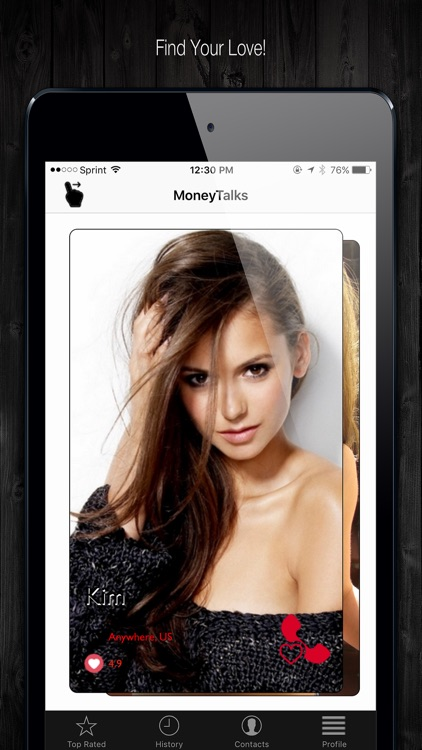 MONEYTALKS - Video Chat Dating Club screenshot-3