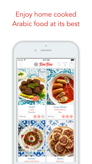 Simsim middle eastern recipes on the app store screenshots forumfinder Image collections
