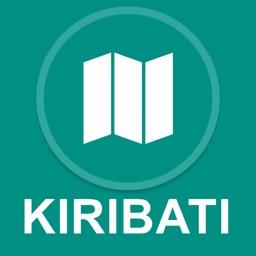 Kiribati : Offline GPS Navigation