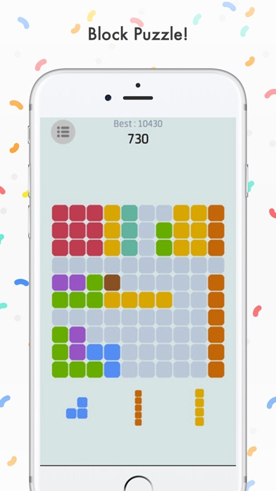 Ⓞ Block Puzzle Classic Pro Screenshot