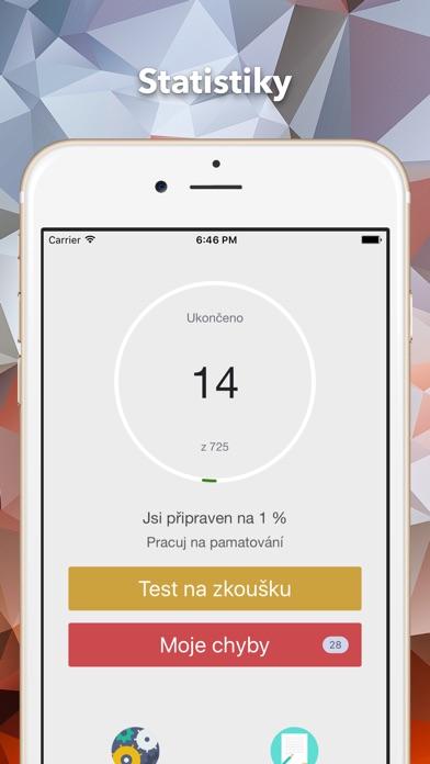 Screenshot #1 pour Autoškola CZ řidičský teoretický test - 2017