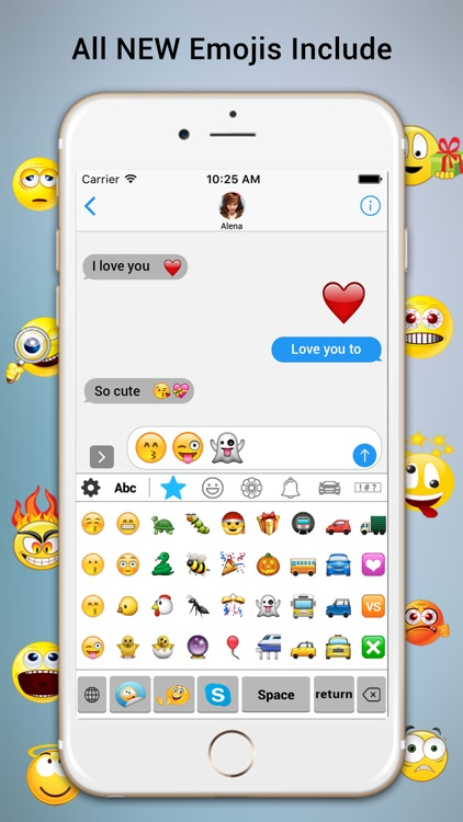 Anymoji Emoji Free – Emoticons Art and Cool Fonts screenshot-1