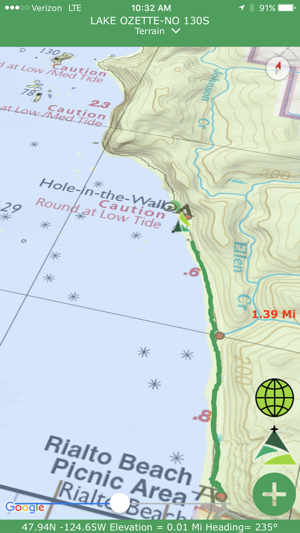 Green Trails Maps Mapps on the App Store