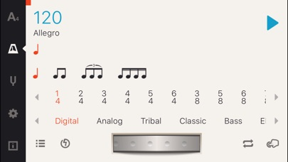 Screenshot for Cadenza: Tuner + Metronome in Singapore App Store