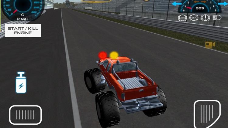 Monster Truck vs Formula Cars screenshot-4