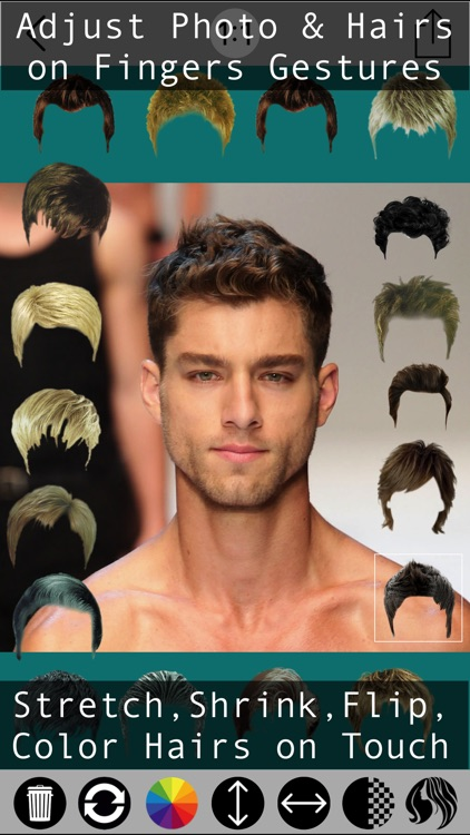 Male Hair Photo Editor - Macho