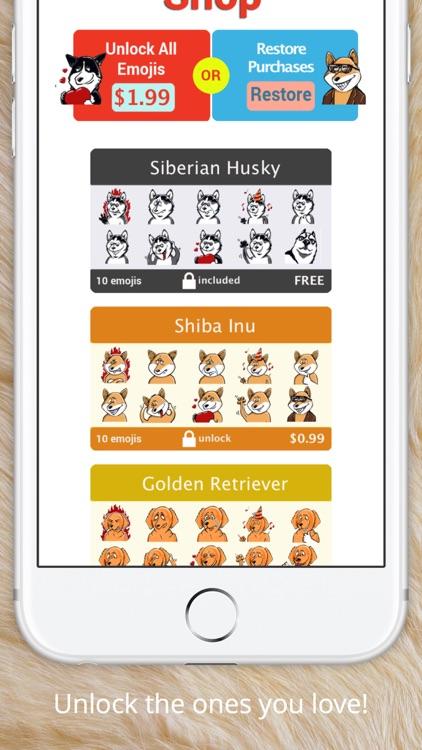 DoggiEMOJI - The best Dog Emoji Keyboard screenshot-3