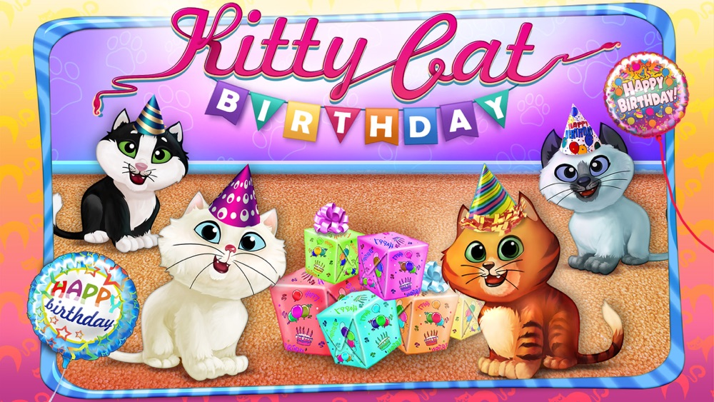 Kitty Cat Birthday Surprise: Care, Dress Up & Play Cheat Codes