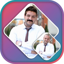 Man Mustache & Hairstyle Photo Editor
