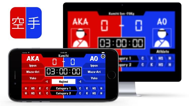 Kumité Scoreboard