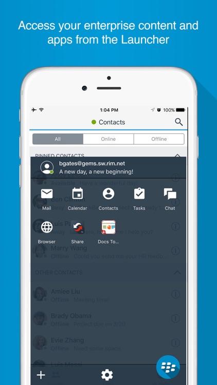 BlackBerry Connect screenshot-4
