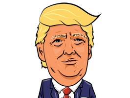 Announcing the President Donald Trump sticker set in iTunes exclusively for iMessage