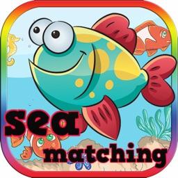 Sea Animal Match - Cards Matching Games Kids