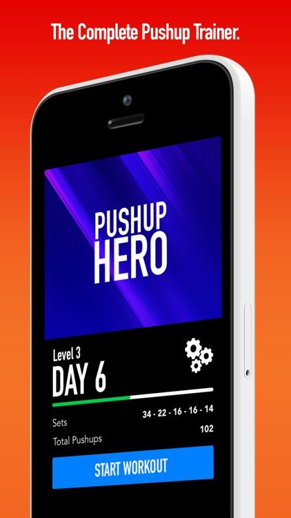 0 to 100 Pushups - Workouts & Tracker screenshot-3