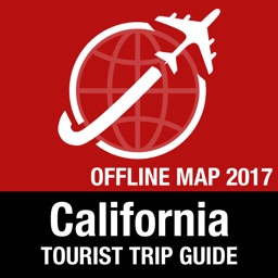California Tourist Guide + Offline Map
