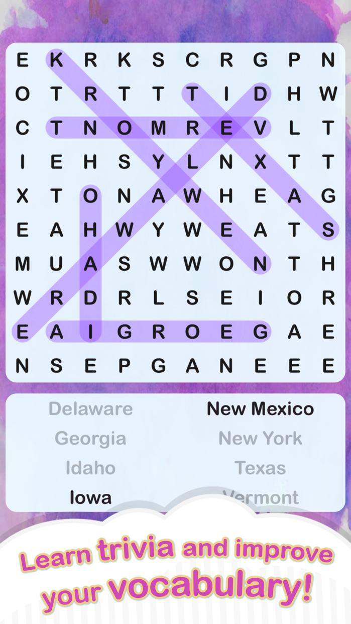 Word Search + Screenshot
