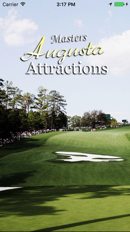 Masters Golf Augusta Attractions